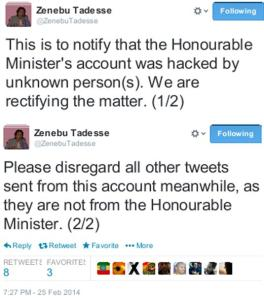 Ethiopias-Minister-Zenebu-Tadesse-disclaims-pro-gay-tweets